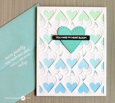 5 Jan 2017 : Inked Backgrounds Video by Jennifer McGuire Ink The first uses a background I created with Distress Inks and Claritystamp Brushes… and the Birch Press Amour Layered Die Set. Those layered backgrounds are my weakness! I only added a stitched heart and sentiment to keep it simple…