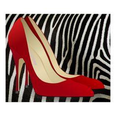high heels red print http://www.pinterest.com/glovefox/art-and-fashion/