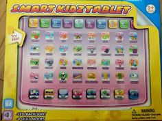 Smart Kids Educational Musical Learning Games Tablet Ages 3+   eBay