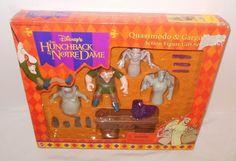 Hunchback of Notre Dame Disney Quasimodo Gargoyles Action Figure Set Cake Topper #Applause