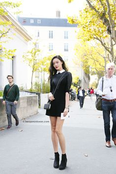Pascal Millet SS 2015 Paris Snapped by Benjamin Kwan Paris Fashion Week