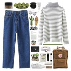 """SheIn 7"" by novalikarida ❤ liked on Polyvore featuring Fjällräven, Dr. Sebagh, Linum Home Textiles, Urban Decay, Nearly Natural, Gorgeous Cosmetics, BIA Cordon Bleu, Bobbi Brown Cosmetics, Korres and adidas"