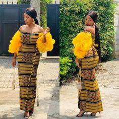 Latest Ankara Styles for Wedding Occasion. Today, at maboplus We present to you Latest Ankara Styles for Wedding Occasion. it is another gathering of collection of ankara styles which can be wo African Wear Dresses, African Fashion Ankara, Latest African Fashion Dresses, African Print Fashion, African Attire, Africa Fashion, African Prints, Ankara Long Gown Styles, Ankara Styles For Women