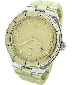 Relógio Adidas Originals Aluminum Cambridge Gold-tone Dial Unisex watch ADH2543 #Relogios #Adidas