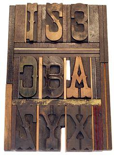 Tuscan Egyptian wood type form