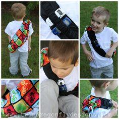 Sugar Bee Crafts: Boy Bag