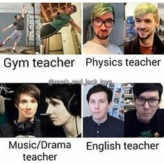 I would actually not hate school for once, don't know if anyone would learn anything in physics though<<Oops I'm suddenly a teacher's pet oh well Danisnotonfire, Amazingphil, Markiplier, Pewdiepie, Hate School, Normal School, Dream School, Youtube Memes, Be My Teacher