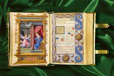 Miniature Prayer Book (74 x 68 mm), France, ca. 1517-20 Ill. by the Master of Claude de France. The Morgan Library M. pic.twitter.com/ceGvOSRtnh