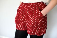 LOVE THESE POKA DOT SHORTS! Perfect for summer or spring!
