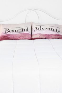 Beautiful Adventure Pillowcase - Set Of 2