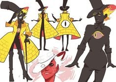 Bill Cipher /Gravity Falls<<<<I love that coat!!!!