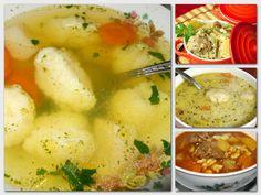 Receptbazár: TÖKÉLETES HÁZI KÉSZÍTÉSŰ LEVESBE VALÓK – ÍME 12 IZGALMAS LEVESBETÉT RECEPT! Soup Recipes, Cake Recipes, Chicken Recipes, Romania Food, Hungarian Recipes, I Want To Eat, Chana Masala, Chowder, Potato Salad