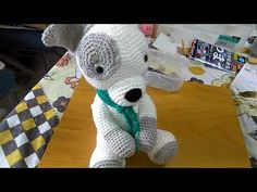 Amigurumi Cachorrinho Jack Pup part final...Créditos Hellow Yellow Yarn...Crochet &craft by Mj Carlo - YouTube