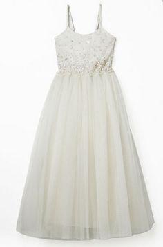 SALE DRESSES: Tutu_Du_monde_deep_in_the_meadow_camelia_long_dress_milk