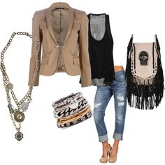 This is a fun weekend outfit, love the Gucci jacket paired with the Thomas Wylde bag, Fun!!