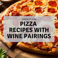 Wine Tasting and Wine recommendations Pizza Recipes, Healthy Recipes, Wine Pairings, Hawaiian Pizza, Pepperoni, Meals, Food, Meal, Essen