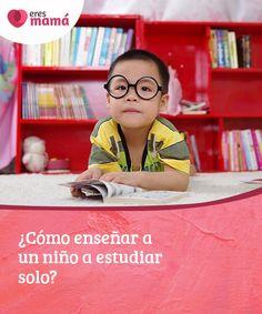 ¿Cómo enseñar a un niño a estudiar solo? A continuación te contamos cómo puedes enseñar a un niño a estudiar solo y cuáles son las herramientas que debes brindarle para que logre sus objetivos. #estudiarsolo #objetivo #herramienta #conocimiento