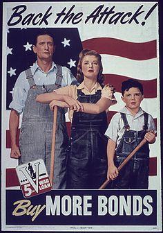 WW II buy war bonds