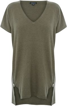 Womens khaki grey jumper from Warehouse - £36 at ClothingByColour.com