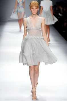 5ffdc5df2e6 Cacharel Spring 2013 Ready-to-Wear Collection - Vogue Fall Fashion Week,  Milan