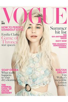 Emilia Clarke -  May 2015 issue - Paolo Roversi