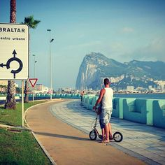 Make the most of your Summer Bank Holiday with #boardy #boardyonboard #kickscooter #kickbike #pushbike #adultscooter #trottinette #monopatin #summer #kolobezka #footbike #awesome #outdoors #bankholiday #gibraltar #holiday #august