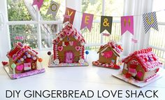 DIY Gingerbread Love