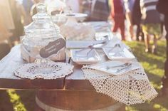 Rustic Lace Table Runner