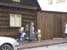 Gotlandia, Visby. W sierpniu w średniowiecze bawią się wszyscy!