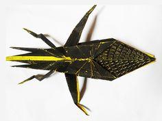 Origami Bugs on Behance