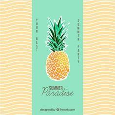 pineapple illustration - Google Search