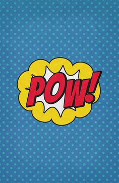 Pow! - 01 - Poster Art Print by Misery
