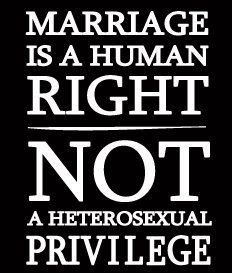 Don't like gay marriage? Don't get gay married!
