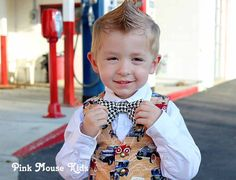 Boy's Bow Tie Baby Boy Tie Toddler Accessories  by PinkMouseKids, $12.00