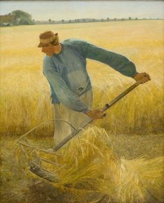 """Laurits Andersen Ring (1854-1933), """"I høst"""", 1885.  Statens Museum for Kunst / National Gallery of Denmark. http://www.smk.dk/index.php?id=1205"""