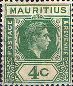 Mauritius Stamps 1938 King George VI Fine Used SG 254 Scott 213 Other Mutitius Stamps HERE