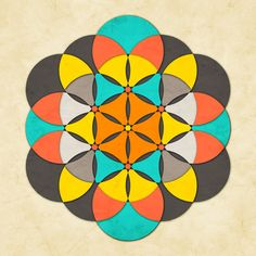 Sacred Geometry: The Flower of life #2 Art Print -> Great tools for light-workers.. Flower of Life T-Shirts, V-necks, Sweaters, Hoodies & More ONLY 13$ EACH! LIMITED TIME CLICK ON THE PIC