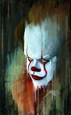 Gaze into the deep, sulfurous eyes of Pennywise, but don't stare too long, because gazing into his eyes can drive a person mad...Jorgel007.deviantart.com on @DeviantArt