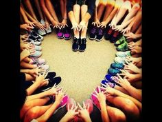 heart photo idea - cute and short sisterhood event! Throw what you know AXO