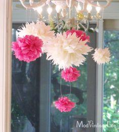 How to make Tissue Paper Flowers – Tutorial   Elegant Simplicity