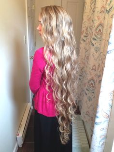 Long Wavy Hair Tutorial Trinitarian Pentecostal