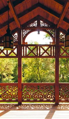 Printmaking Ideas, Garden Trees, Carriage House, Balconies, Home Renovation, Poland, Building A House, Gazebo, Swimming Pools