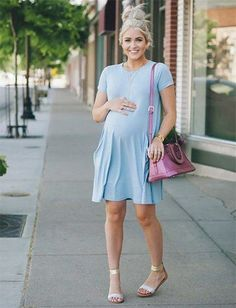 Lot many questions come to would-be moms, on the lines of maternity fashion and trendy maternity clothes. Let's look at some summer pregnancy outfit ideas. Pregnancy First, Pregnancy Trimesters Spring Maternity, Cute Maternity Outfits, Stylish Maternity, Maternity Wear, Maternity Fashion, Maternity Clothing, Summer Maternity Clothes, Baby Bump Style, Mommy Style
