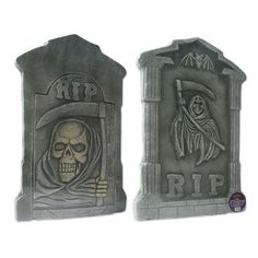amazoncom amscan tombstone decoration set halloween props and decor 5 pieces toys games halloween pinterest