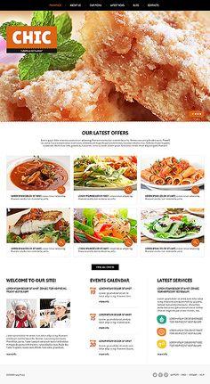 Food store responsive joomla template seo online marketing joomla european restaurant theme forumfinder Images