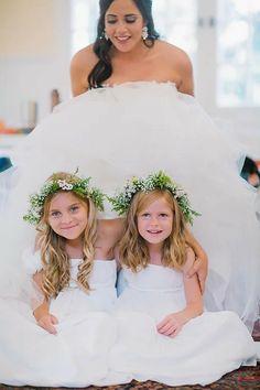Flower Girl wedding flowers Goodwood wedding Tallahassee Wedding Florist At Last Florals