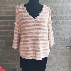 """NWT free people ballerina sweater Runs large my mannequin is a size """"medium"""" and this is a small meant to be oversized 92% cotton 8% nylon - make me an offer! Free People Sweaters"""