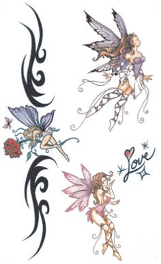 Love Elves Tattoos