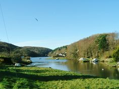 Lerryn, Cornwall where I grew up and everyone was local.