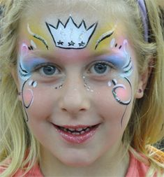 Kinderschminken Prinzessinnen